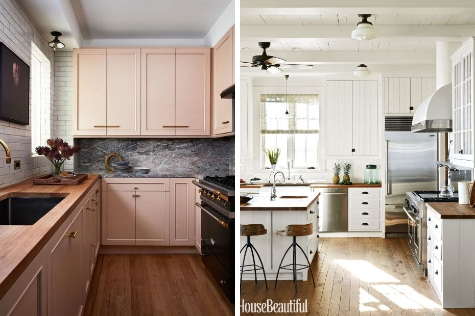 casual looking kitchen