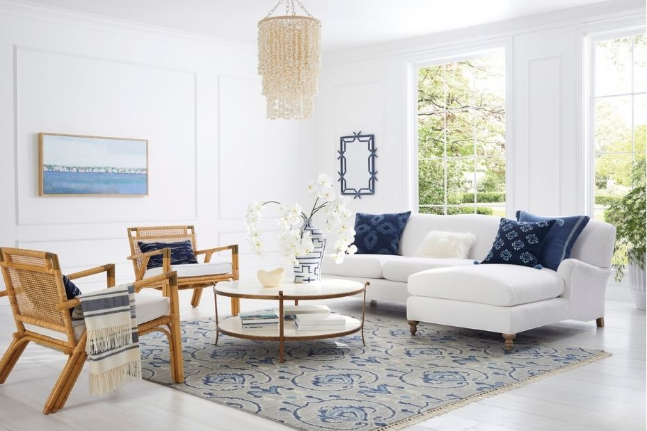 casual looking living room