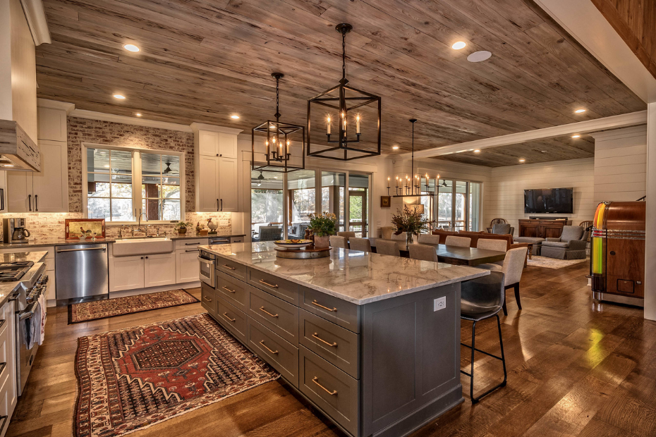country looking kitchen